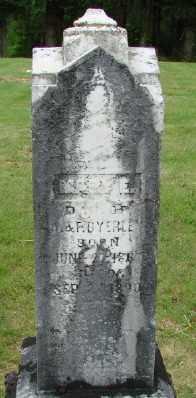 BYERLEY, MARY E - Polk County, Oregon | MARY E BYERLEY - Oregon Gravestone Photos