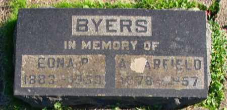 BYERS, EDNA P - Polk County, Oregon   EDNA P BYERS - Oregon Gravestone Photos