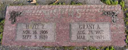 BYERS, GRANT A - Polk County, Oregon | GRANT A BYERS - Oregon Gravestone Photos