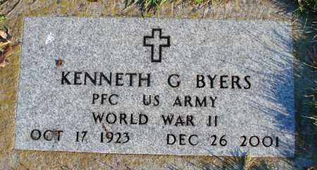 BYERS (WWII), KENNETH G - Polk County, Oregon | KENNETH G BYERS (WWII) - Oregon Gravestone Photos