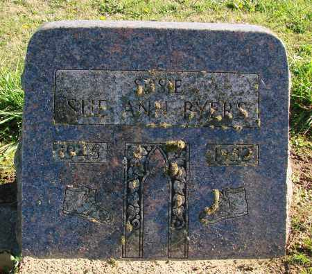 BYERS, SUE ANN - Polk County, Oregon   SUE ANN BYERS - Oregon Gravestone Photos
