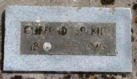 CALKINS, CLIFFORD ALPHONSO - Polk County, Oregon   CLIFFORD ALPHONSO CALKINS - Oregon Gravestone Photos