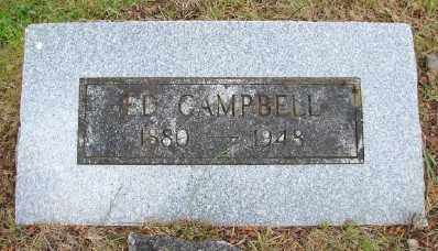 CAMPBELL, ED - Polk County, Oregon | ED CAMPBELL - Oregon Gravestone Photos