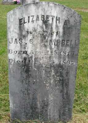CAMPBELL, ELIZABETH - Polk County, Oregon | ELIZABETH CAMPBELL - Oregon Gravestone Photos