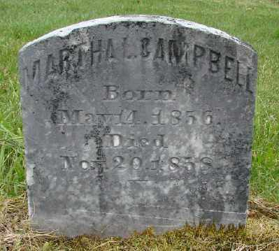 CAMPBELL, MARTHA L - Polk County, Oregon   MARTHA L CAMPBELL - Oregon Gravestone Photos