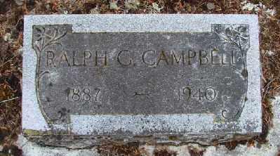 CAMPBELL, RALPH G - Polk County, Oregon   RALPH G CAMPBELL - Oregon Gravestone Photos