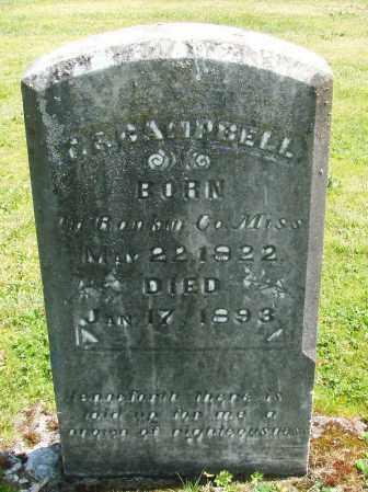 CAMPBELL, THOMAS FRANKLIN - Polk County, Oregon | THOMAS FRANKLIN CAMPBELL - Oregon Gravestone Photos