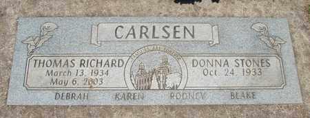 CARLSEN, THOMAS RICHARD - Polk County, Oregon | THOMAS RICHARD CARLSEN - Oregon Gravestone Photos