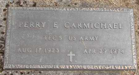 CARMICHAEL, PERRY E - Polk County, Oregon | PERRY E CARMICHAEL - Oregon Gravestone Photos