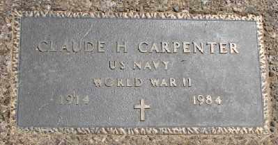 CARPENTER, CLAUDE H - Polk County, Oregon | CLAUDE H CARPENTER - Oregon Gravestone Photos