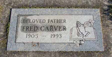 CARVER, FRED - Polk County, Oregon | FRED CARVER - Oregon Gravestone Photos