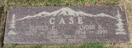 CASE, ALFRED E - Polk County, Oregon | ALFRED E CASE - Oregon Gravestone Photos