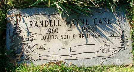 CASE, RANDELL WAYNE - Polk County, Oregon | RANDELL WAYNE CASE - Oregon Gravestone Photos