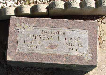 CASE, THERESA L - Polk County, Oregon | THERESA L CASE - Oregon Gravestone Photos