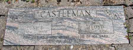 CASTLEMAN, EUNICE LENORE - Polk County, Oregon   EUNICE LENORE CASTLEMAN - Oregon Gravestone Photos