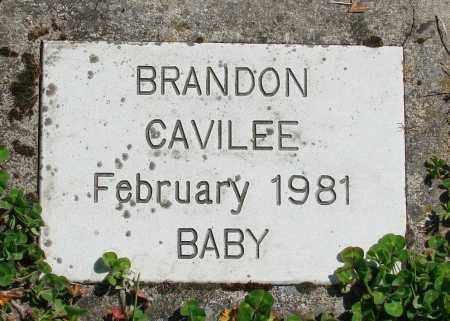 CAVILEE, BRANDON - Polk County, Oregon   BRANDON CAVILEE - Oregon Gravestone Photos