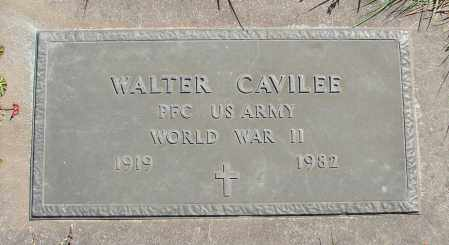 CAVILEE, WALTER - Polk County, Oregon | WALTER CAVILEE - Oregon Gravestone Photos