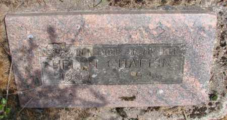 CHAFFIN, HELEN - Polk County, Oregon | HELEN CHAFFIN - Oregon Gravestone Photos