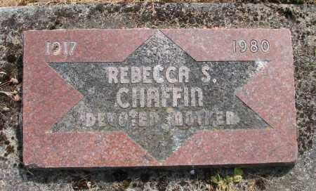 CHAFFIN, REBECCA S - Polk County, Oregon | REBECCA S CHAFFIN - Oregon Gravestone Photos