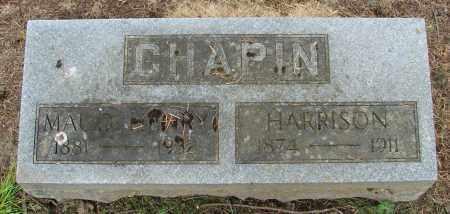 CHAPIN, JAMES HARRISON - Polk County, Oregon | JAMES HARRISON CHAPIN - Oregon Gravestone Photos