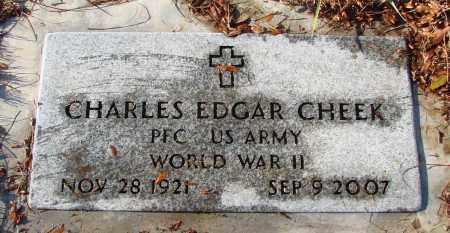 CHEEK, CHARLES EDGAR - Polk County, Oregon   CHARLES EDGAR CHEEK - Oregon Gravestone Photos