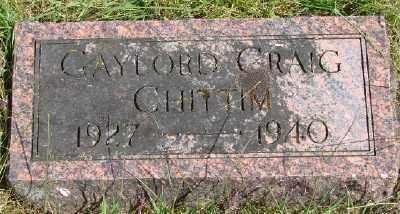 CHITTIM, GAYLORD CRAIG - Polk County, Oregon   GAYLORD CRAIG CHITTIM - Oregon Gravestone Photos