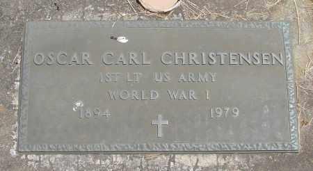 CHRISTENSEN, OSCAR CARL - Polk County, Oregon | OSCAR CARL CHRISTENSEN - Oregon Gravestone Photos