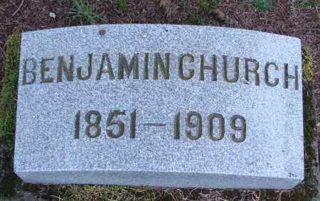 CHURCH, BENJAMIN - Polk County, Oregon | BENJAMIN CHURCH - Oregon Gravestone Photos