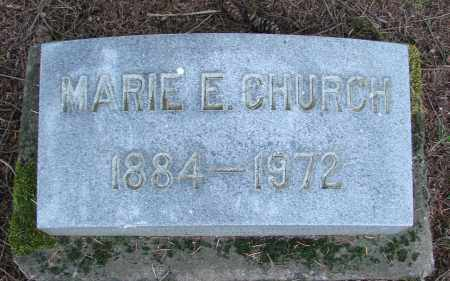 CHURCH, MARIE ELIZABETH - Polk County, Oregon | MARIE ELIZABETH CHURCH - Oregon Gravestone Photos