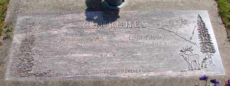 DORA CHURCHES, BERNADENE - Polk County, Oregon | BERNADENE DORA CHURCHES - Oregon Gravestone Photos