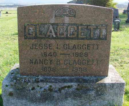 CLAGGETT, NANCY B - Polk County, Oregon   NANCY B CLAGGETT - Oregon Gravestone Photos