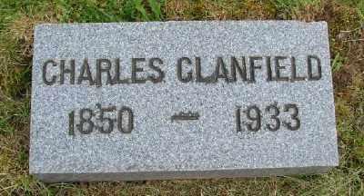 CLANFIELD, CHARLES - Polk County, Oregon   CHARLES CLANFIELD - Oregon Gravestone Photos