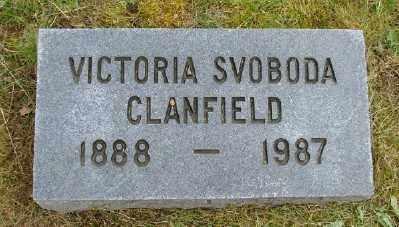 CLANFIELD, VICTORIA - Polk County, Oregon | VICTORIA CLANFIELD - Oregon Gravestone Photos