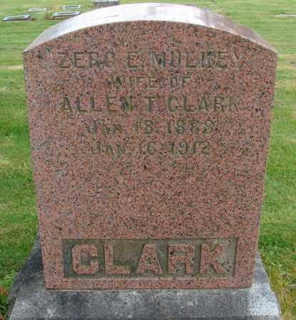 MULKEY CLARK, ELIZABETH ZERO - Polk County, Oregon   ELIZABETH ZERO MULKEY CLARK - Oregon Gravestone Photos