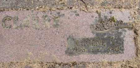 CLARKE, EUGENE V - Polk County, Oregon | EUGENE V CLARKE - Oregon Gravestone Photos