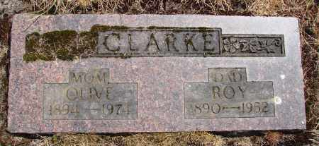 CLARKE, ROY - Polk County, Oregon | ROY CLARKE - Oregon Gravestone Photos