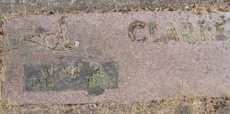 CLARKE, WILMA M - Polk County, Oregon   WILMA M CLARKE - Oregon Gravestone Photos
