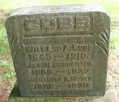 COBB, JENNIE - Polk County, Oregon | JENNIE COBB - Oregon Gravestone Photos