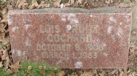 PRUITT COCHRAN, LOIS - Polk County, Oregon   LOIS PRUITT COCHRAN - Oregon Gravestone Photos