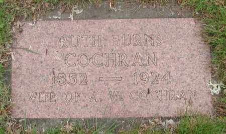 BURNS, RUTH - Polk County, Oregon | RUTH BURNS - Oregon Gravestone Photos