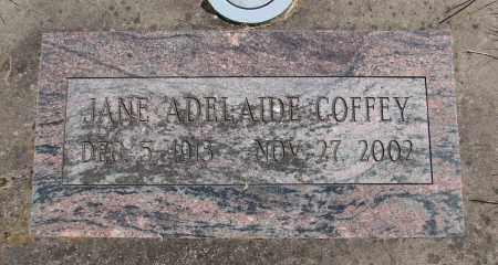 COFFEY, JANE ADELAIDE - Polk County, Oregon   JANE ADELAIDE COFFEY - Oregon Gravestone Photos