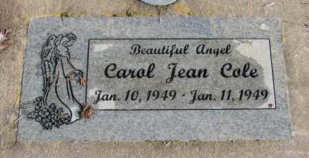 COLE, CAROL JEAN - Polk County, Oregon | CAROL JEAN COLE - Oregon Gravestone Photos