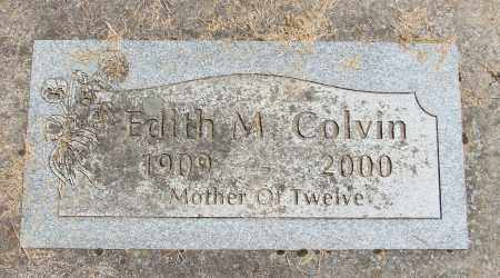 COLVIN, EDITH M - Polk County, Oregon   EDITH M COLVIN - Oregon Gravestone Photos