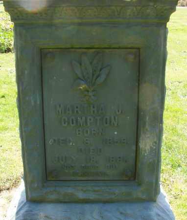 COMPTON, MARTHA J - Polk County, Oregon   MARTHA J COMPTON - Oregon Gravestone Photos
