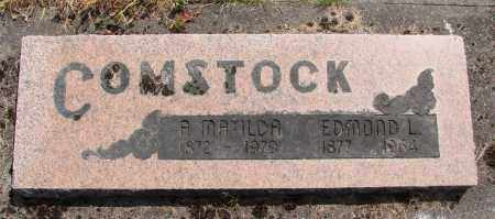 COMSTOCK, A MATILDA - Polk County, Oregon | A MATILDA COMSTOCK - Oregon Gravestone Photos