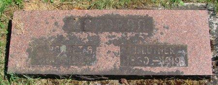 CONDRON, JOHN LUTHER - Polk County, Oregon | JOHN LUTHER CONDRON - Oregon Gravestone Photos