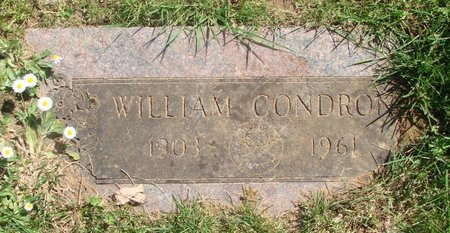 CONDRON, WILLIAM - Polk County, Oregon | WILLIAM CONDRON - Oregon Gravestone Photos