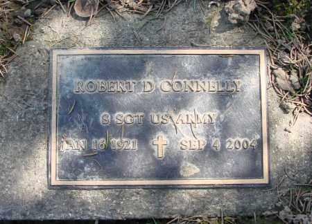CONNELLY, ROBERT D - Polk County, Oregon | ROBERT D CONNELLY - Oregon Gravestone Photos