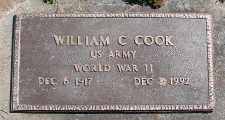 COOK, WILLIAM C - Polk County, Oregon | WILLIAM C COOK - Oregon Gravestone Photos