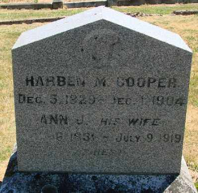COOPER, ANN J - Polk County, Oregon | ANN J COOPER - Oregon Gravestone Photos